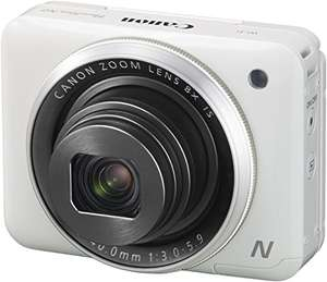 Canon PowerShot N2 Digitalkamera (16,1 Megapixel CMOS, HS-System, 8-fach optisch, Zoom, opt. Bildstabilisator, 7,1 cm (2,8 Zoll) Tilt-up Touch LCD, Selbstporträt, Full HD Movie, WLAN)