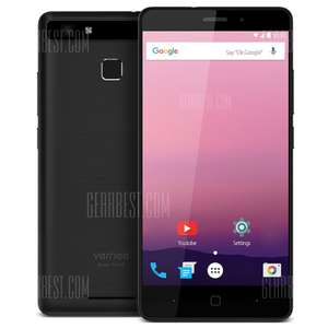 Vernee Thor E 4G - BLACK mit BAND 20 -> 5.0 Zoll, Android 7.0, MTK6753 Octa Core 1.3GHz, 3GB RAM, 16GB ROM, Touch Sensor, 5020mAh, Full Metal Body [Gearbest]