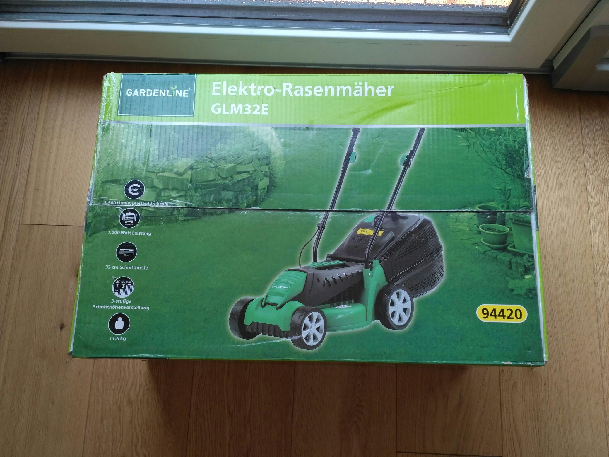 Aldi Süd Elektro-Rasenmäher ab heute reduziert