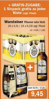 LOKAL - Oldenburg und umzu / aktiv irma: 1 Kiste Warsteiner (0,5 oder 0,33) + 1 Sixpack zusammen nur 9,45 Euro; 2 Tüten Haribo nur 1,00 Euro; u.v.m.