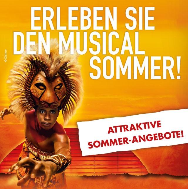 2 Musical-Tickets ab 99 € inkl. Gebühren