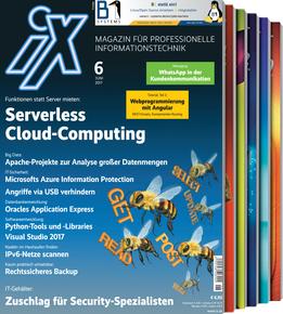 iX Magazin - 3 Ausgaben (Print ODER Digital + Online Archiv) für 14,30€ mit 10€ Amazon-Gutschein