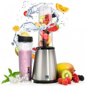 Sänger Smoothie Maker - 300 Watt - inkl. 2 600ml BPA-freie Trinkflaschen - 4fach Edelstahlmessereinheit