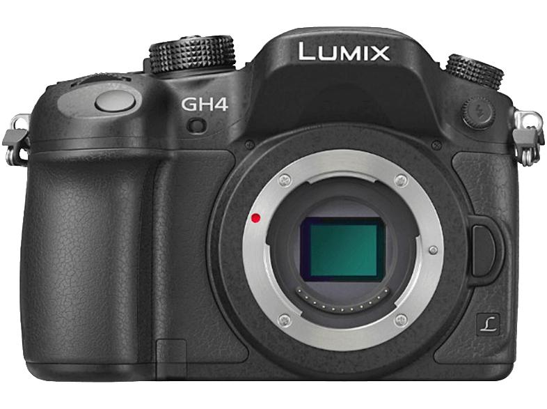 PANASONIC Lumix DMC-GH4 schwarz Body für 778€ [mediamarkt.at]