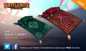[STEAM] Battlerite - Magic Moonlight Carpet (DLC) und Battlerite - Magic Royal Carpet (DLC) @Battleritecom