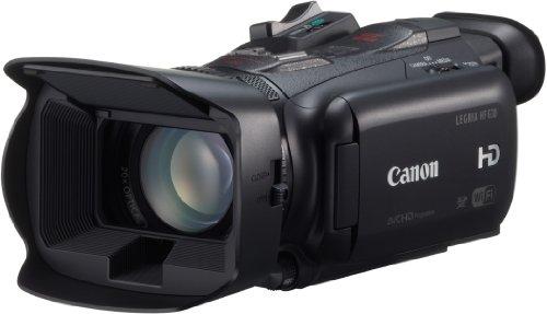 Canon Legria HF G30 HD Camcorder (20-fach opt. Zoom, 400-fach dig. Zoom, 8-Lamellen-Irisblende, 8,9 cm (3,5 Zoll) OLED-Touchscreen, WLAN, DIGIC DV 4)