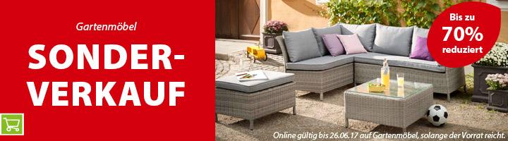 Dehner Bis zu 70 Prozent Sonderverkauf auf ausgewählte Gartenmöbel