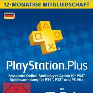 PS Plus 12-Monate für 34,99€