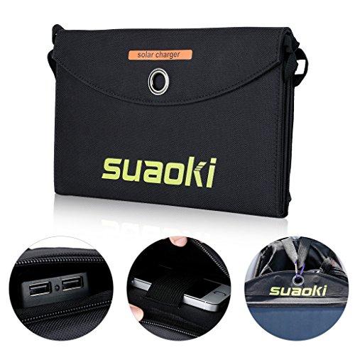 [Amazon] Suaoki 25W Solar Ladegerät mit 2 Ports (5V/4A) für 29,99€ statt 47,99€ dank Werbeaktion