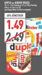 [RATIO, Ratingen] 10+1: KINDER Riegel / DUPLO