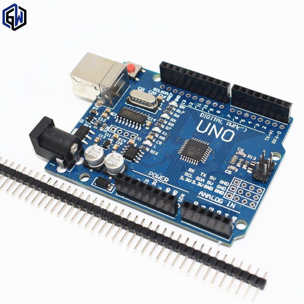 UNO Mikrocontroller (kostenlos - 6,90€ Versand weltweit)