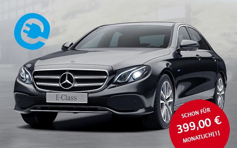 Leasing Elektro-E-Klasse E350E - brauchbar ausgestattet für 399,-EUR / Monat - diverse Restriktionen