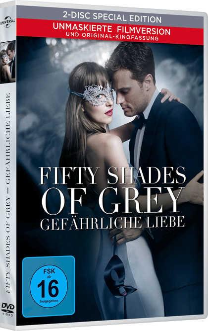 """Fifty Shades of Grey """"Gefährliche Liebe"""" 12,99 Euro - 2 Euro Ersparnis"""