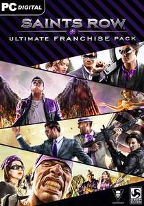 [Steam] Saints Row Ultimate Franchise Pack für 11,99€ statt 133,09€ (Steampreis) @GamesPlanet