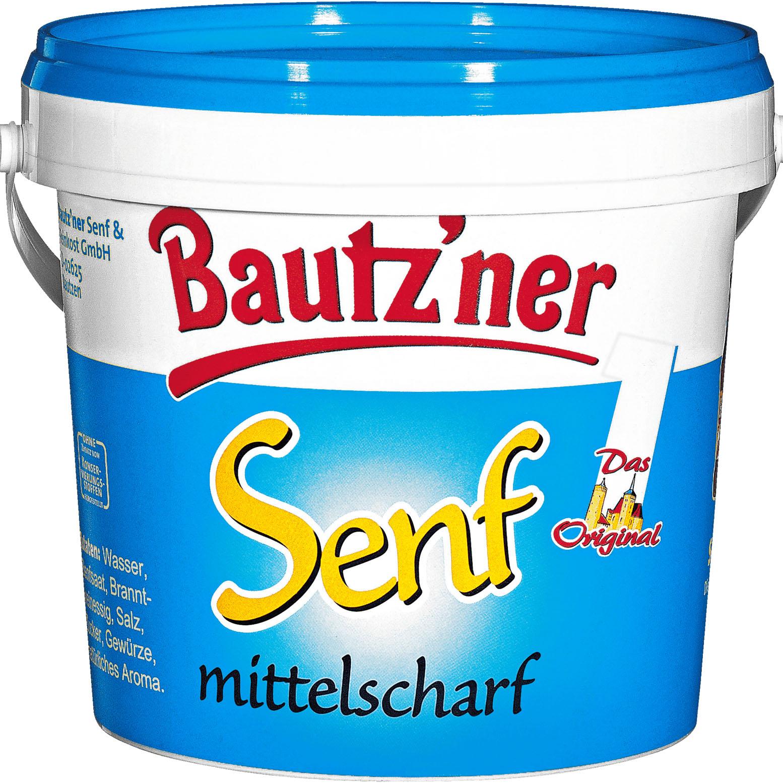 Bautz'ner Senf 1-kg-Eimer für nur 1,09€ [NETTO mit Hund]