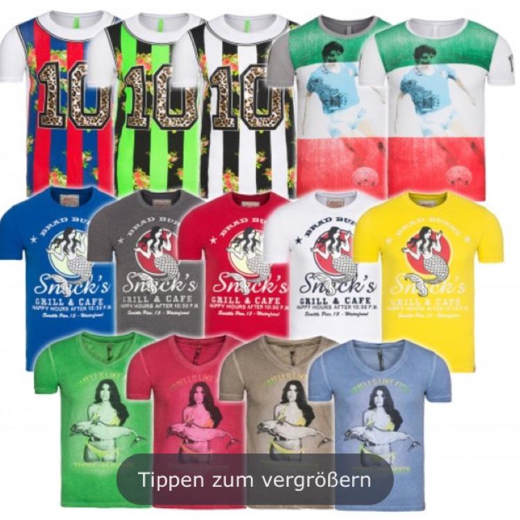 [Outlet46] verschiedene Brad Burns Herren T-Shirts für 1,99€  inklusive Versand