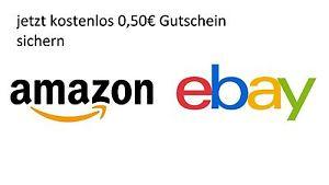 [Ebay] 0,50€ Amazon Gutschein gratis