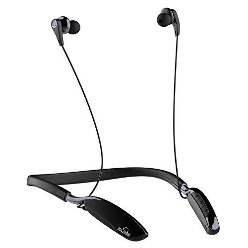 [AMAZON] iDeaUSA Bluetooth In-Ear Kopfhörer, Active Noise Cancelling ANC, Neckband Headset und Bluetooth 4.1, 20 Stunden Wiedergabe -Schwarz - 42,99 €
