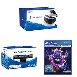 Playstation VR + Kamera + VR Worlds (AMAZON 399€)