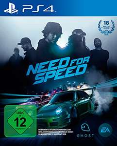 Need for Speed für PS4 @ Amazon + MM online