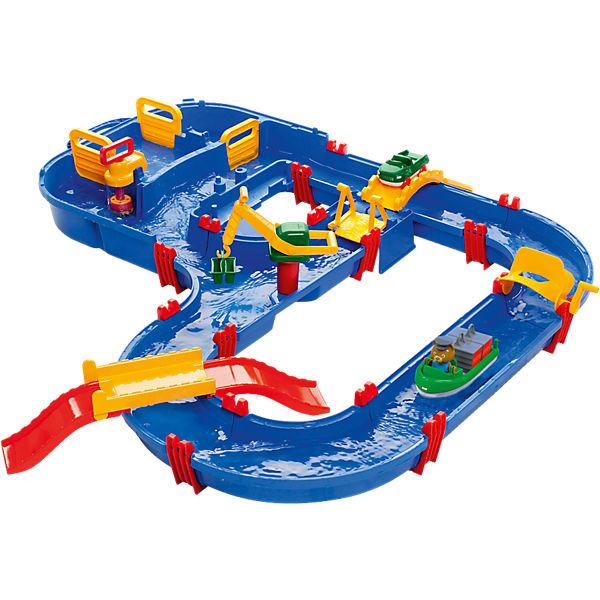 Aquaplay Megabridge Spielset + 8tlg Bootset für 40,94€ inkl. VSK bei [MyToys]