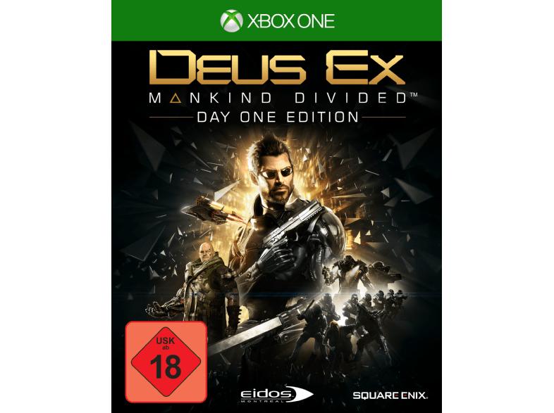 Deus Ex: Mankind Divided Day One Edition (Xbox One) für 11,99€ (Gameware)