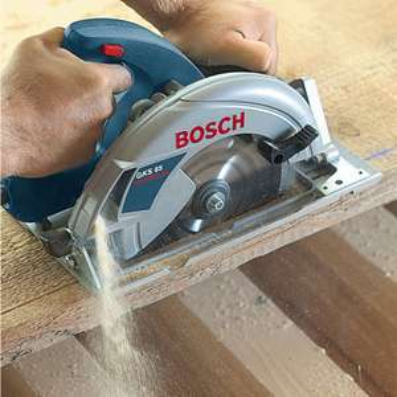 Bosch GKS 65 GCE Professional Handkreissäge mit HM-Sägeblatt 190 mm ø