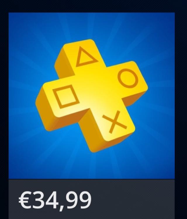 PlayStation Plus 12 Monate jetzt auch im PlayStation Store für 34,99€