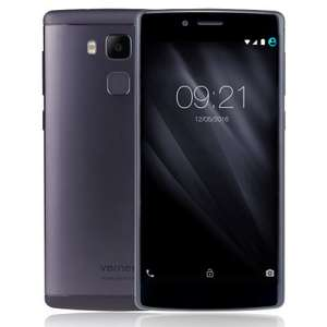 Vernee Apollo Lite 4G+Phablet - EU PLUG BLACK,    (B-20), Android 6.0 MTK6797 Deca Core 4GB RAM 32GB ROM 16.0MP Main Camera Corning Gorilla Glass 3 Type-C Fingerprint Sensor