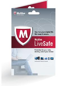 McAfee: LiveSafe 2017, Jahreslizenz gratis