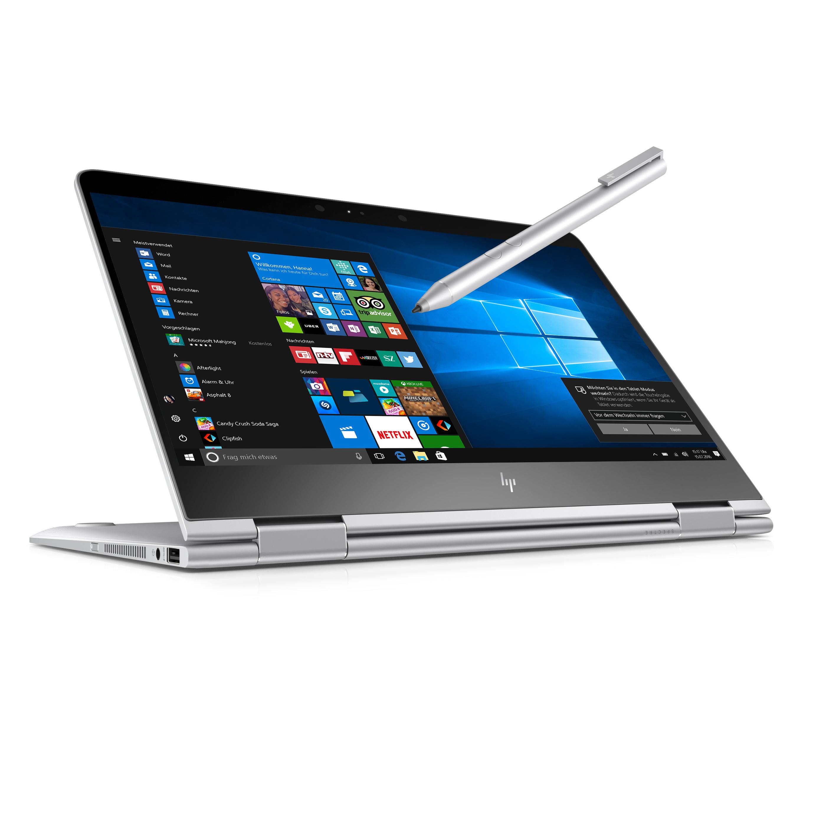 [HP] 100,- Cashback auf HP Spectre (x360) Modelle (+ Active Pen)