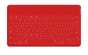[amazon] Logitech Keys-To-Go portable Tastatur rot