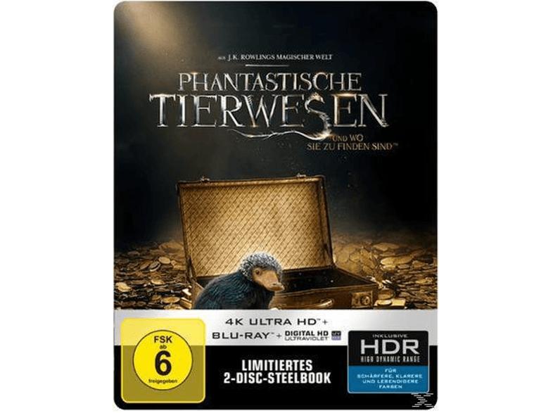 Phantastische Tierwesen und wo sie zu finden sind (Exklusive SteelBook™ Edition) - (4K Ultra HD Blu-ray + Blu-ray) +++versandkostenfrei+++