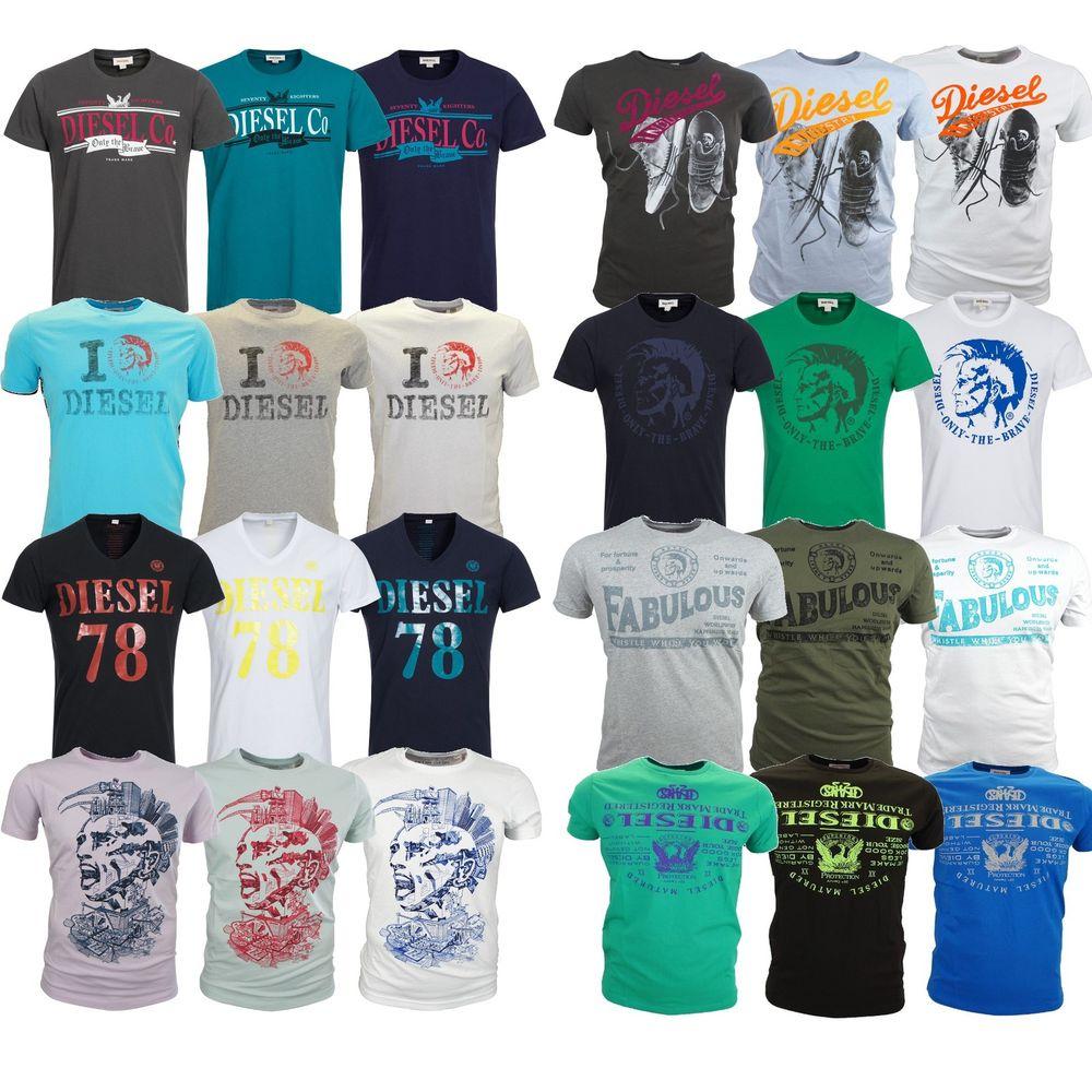 eBay rausverkauf von DIESEL T-Shirts - nur 20€, aktuell noch alle Modelle verfügbar