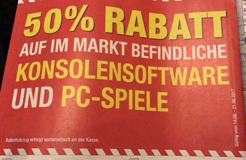 [METRO OFFLINE] 50% Rabatt auf Games im Markt ab 14.6