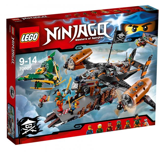 Lego Ninjago - Luftschiff des Unglücks (70605) für 42,99€ inkl. VSK bei [Schinacher]