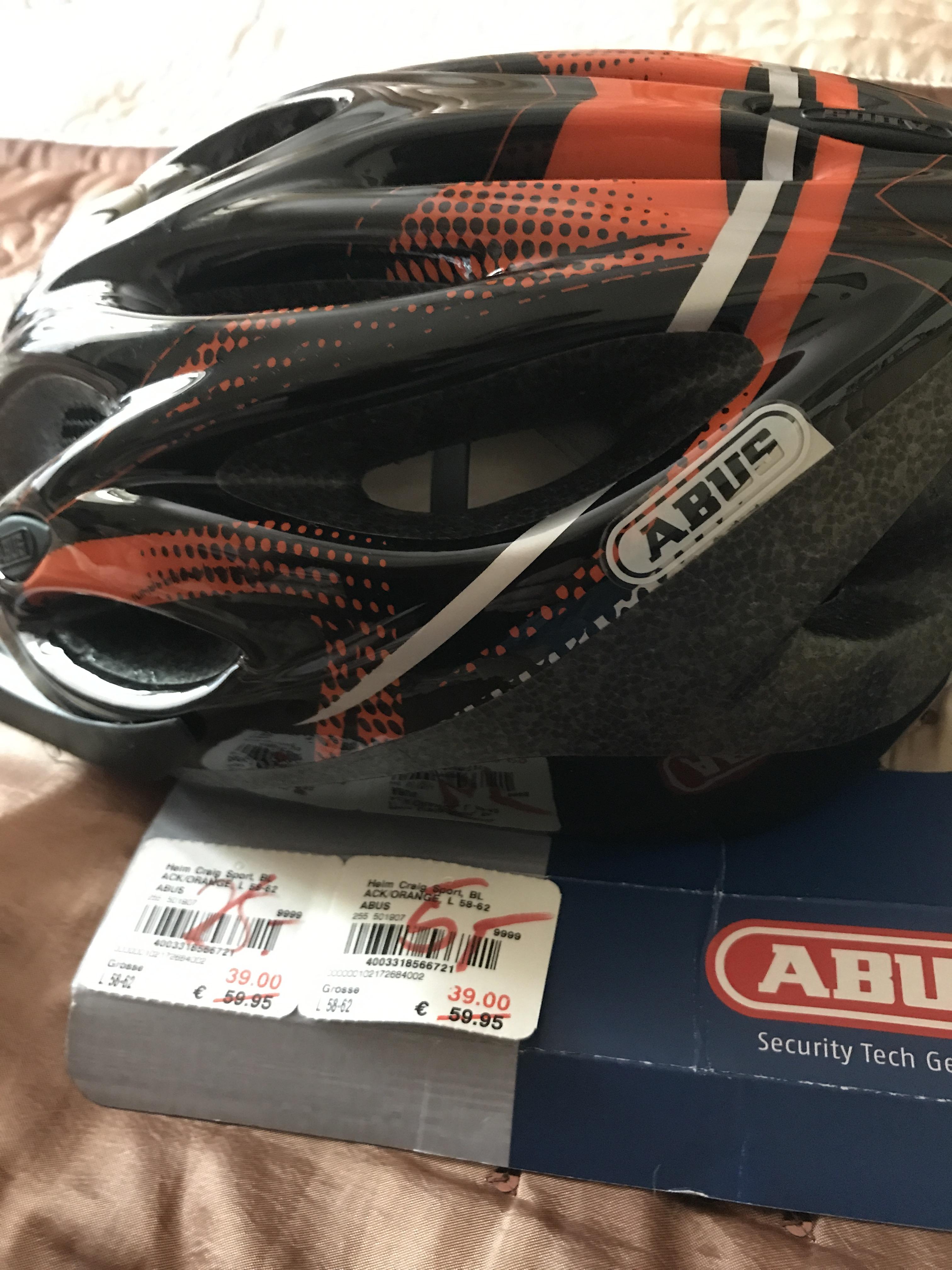 Abus Craig Fahrradhelm für 3,75€ statt 59,95€ Karstadt Sport Hanau