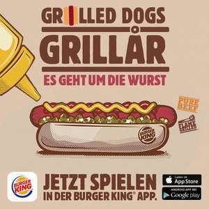 Burger King App Grilled Dogs Spiel