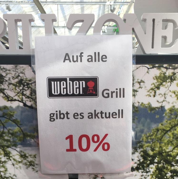 [Lokal Bruchsal] -10% auf Weber Grill bei Mauk