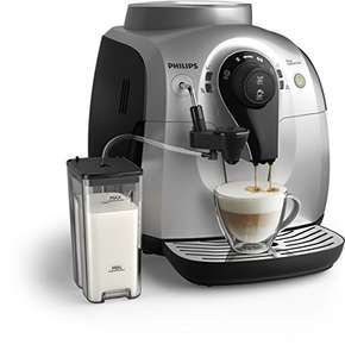[Amazon.de] Philips HD8652/51 2100 Serie Kaffeevollautomat, Cappuccino auf Knopfdruck, silber 127,72 EUR