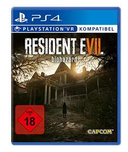 Resident Evil 7 biohazard für PS4 für 35,- [Media Markt & Amazon]