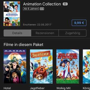 ITunes Animation Collection 5 Filme