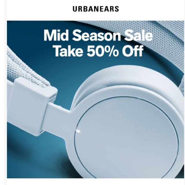 50% auf alle Urbanears!