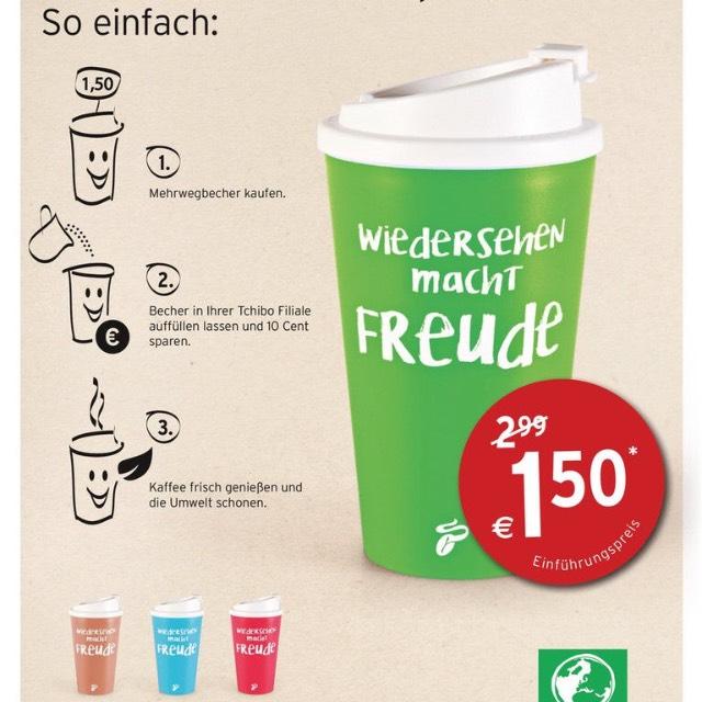 Tchibo kaffeebecher