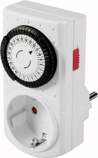 Steckdosen-Zeitschaltuhr analog Tagesprogramm GAO 0760 3680 W IP20