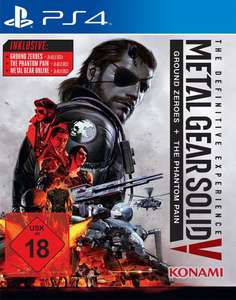 Metal Gear Solid V: The Definitive Experience (Xbox One & PS4) für je 14,99€ (GameStop + Müller)