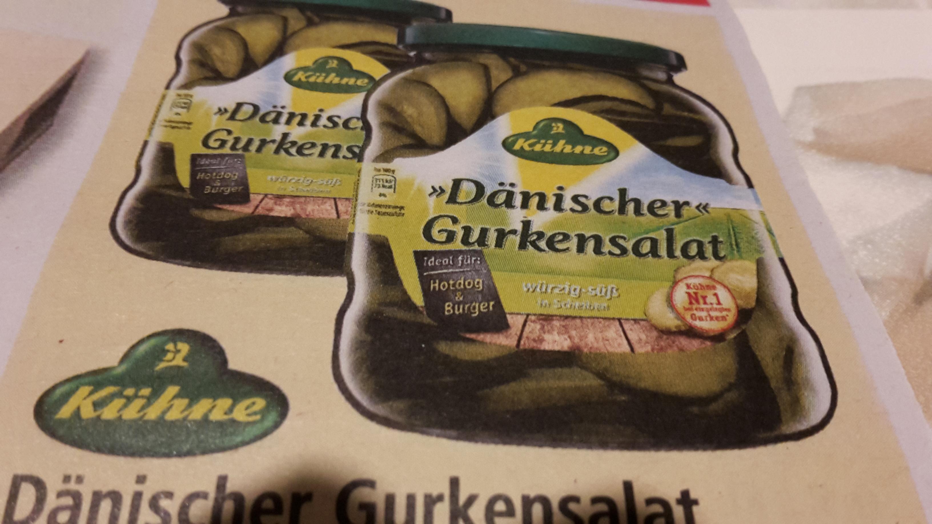 [LOKAL/MULTI] 2x KÜHNE Dänischer Gurkensalat mit Coupon für 1,58€