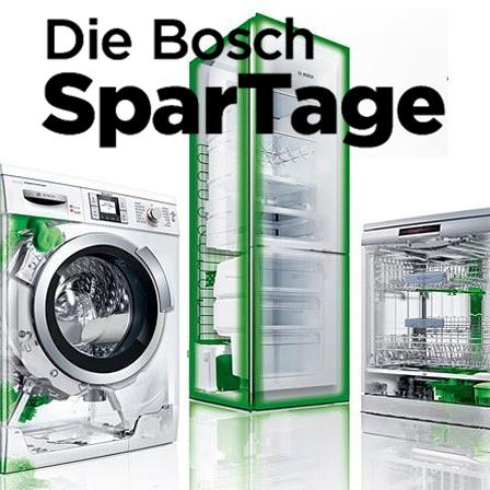 BOSCH SparTage bei ao - z.B. Serie 4 Waschmaschine für 333 € oder Serie 6 Geschirrspüler für 349 €