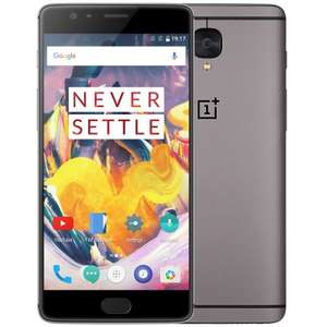 OnePlus 3T Global Version 4G Phablet  - GLOBAL VERSION GRAY (B-20), 6GB RAM 64GB ROM Snapdragon 821 16MP Front Camera