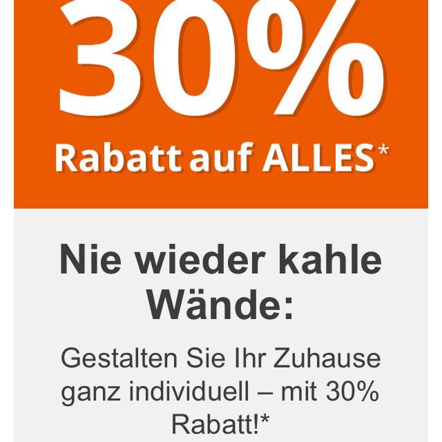 30% Rabatt bei posterXXL ab 45€